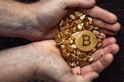 طلا از بیت کوین جلو زد