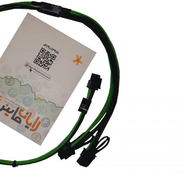 کابل برق کارت گرافیک ۶ پین به ۸ پین دوبل